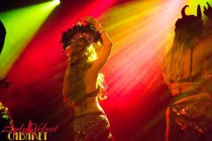LVC Bellydance Students Onstage